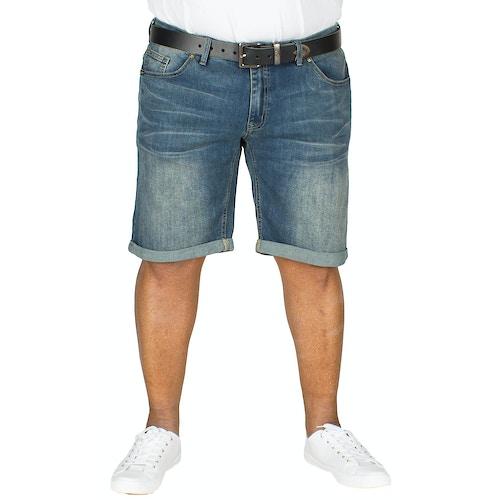 Replika Stretch Jeans Shorts Blau