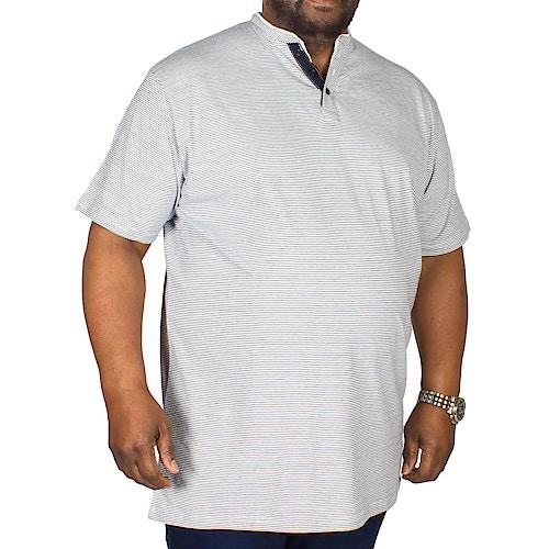Metaphor Granddad Stripe T-Shirt White