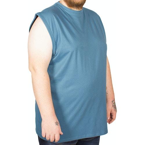 KAM Sleeveless T-Shirt Denim