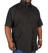 Black Classic Short Sleeved Shirt