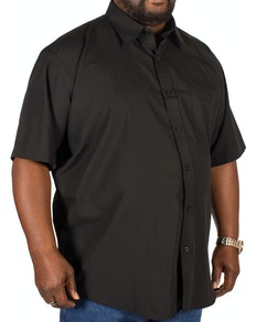 Espionage Black Classic Short Sleeved Shirt