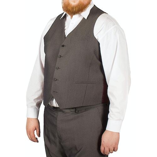 McCarthy Crisitano Easy Fit Waistcoat Charcoal
