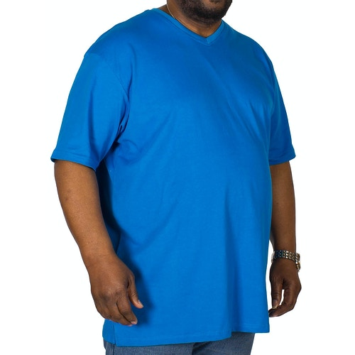 Cotton Valley V Neck T-Shirt Dark Blue