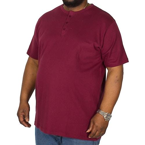 Bigdude Grandad T-Shirt Burgundy Tall