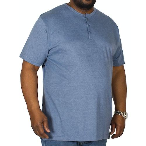 Bigdude Grandad T-Shirt Denim Marl Tall