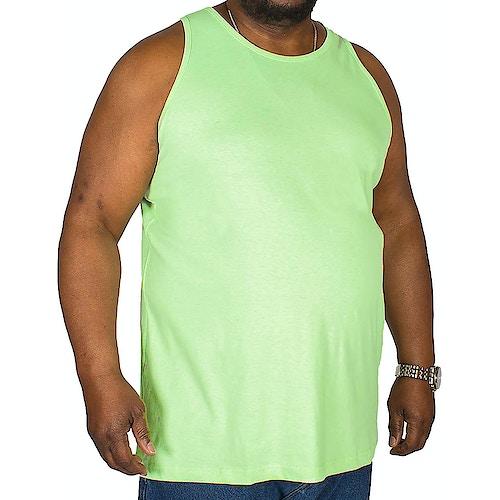 Bigdude einfarbiges Tanktop Grün
