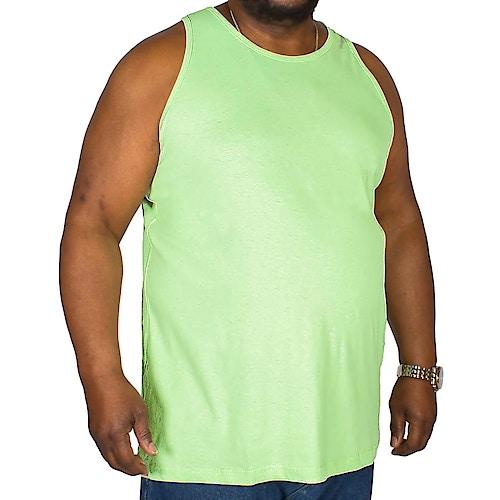 Bigdude Plain Vest Lime Green Tall