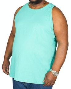 Bigdude Plain Vest Turquoise Tall