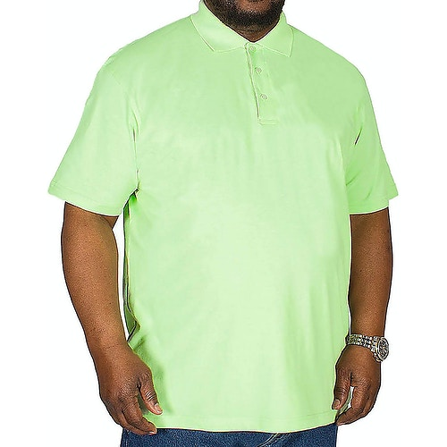 Bigdude Klassisches Poloshirt Grün