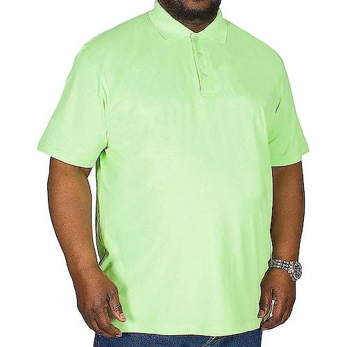 Bigdude Poloshirt Grün Tall Fit