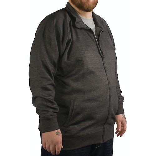 Kam Full Zip Fleece Jacket Charcoal