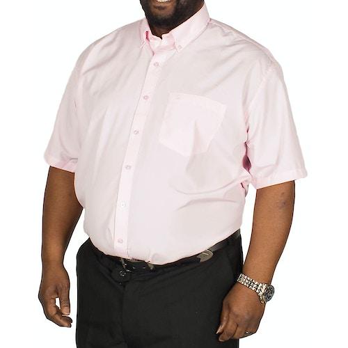 Espionage Plain P.V. Short Sleeve Shirt Pink
