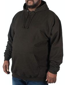 Klassischer schwarzer Kapuzenpullover von ADWis
