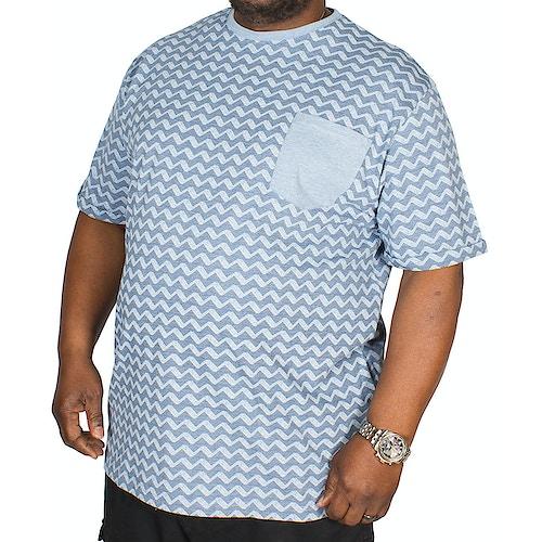 Espionage Wave Print T-Shirt