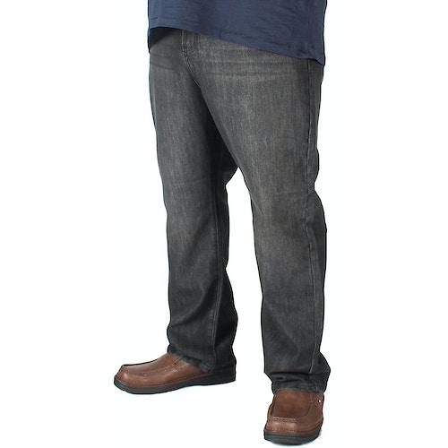KAM Carter Belted Jeans Black