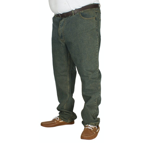 Duke Rockford Bequeme Passform Schmutzige Denim Jeans