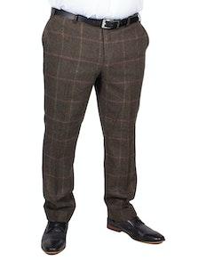 Skopes Morfe Check Trousers Lovat