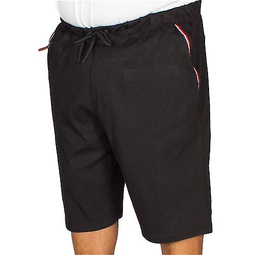 KAM Fashion Jersey Shorts Black