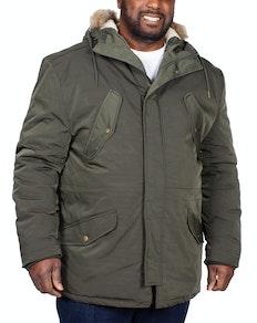 Espionage Parka Coat Olive