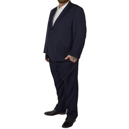 McCarthy Dante Check Suit Navy