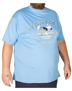 Cotton Valley Pyjama Set Dream Machine Blau