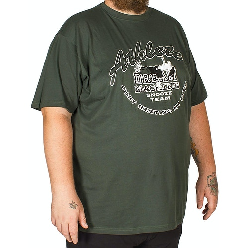 Cotton Valley Dream Machine Short Pyjama Set Green
