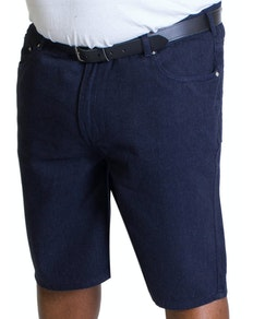 Bigdude Lightweight Denim Shorts Indigoblau