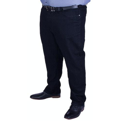 KAM Black Stretch Jeans