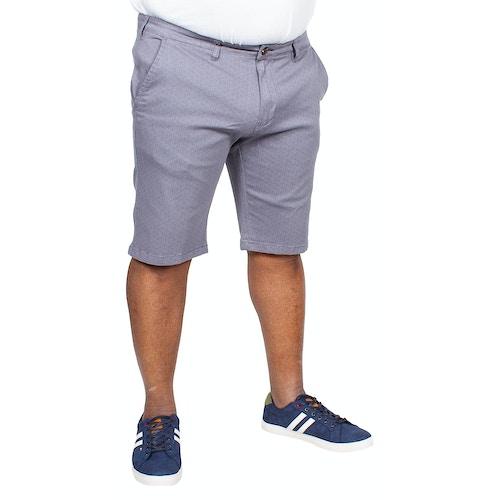 D555 Stretch Shorts Hardy Blau