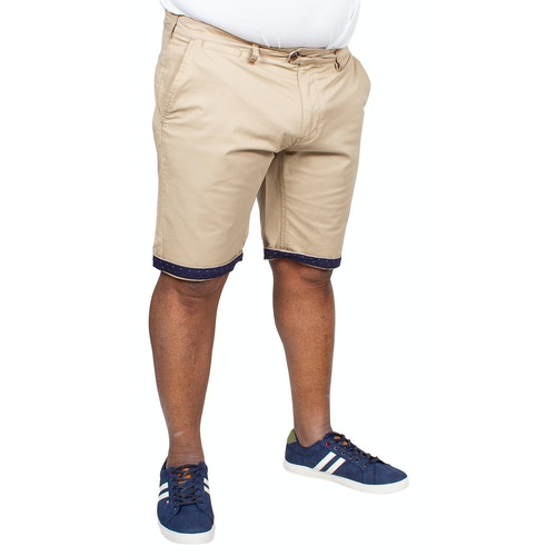 D555 Lopez Stretch Chino Shorts Stone