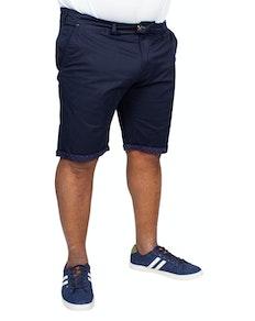 D555 Lopez Stretch Chino Shorts Navy