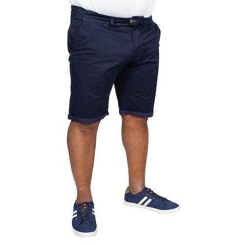 D555 Stretch Chino Shorts Lopez Dunkelblau