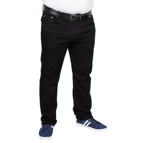 Bigdude Stretch Jeans Black
