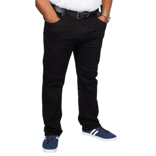 Bigdude Stretch Jeans Schwarz Tall Fit