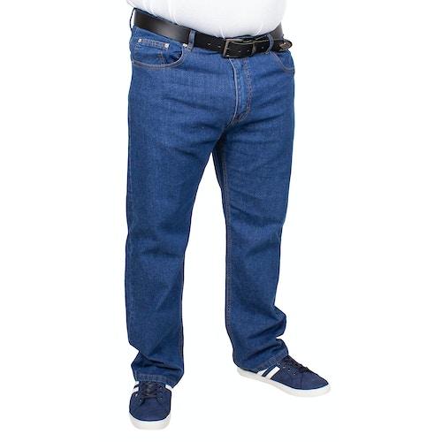 Bigdude Stretch Jeans Mittelblau
