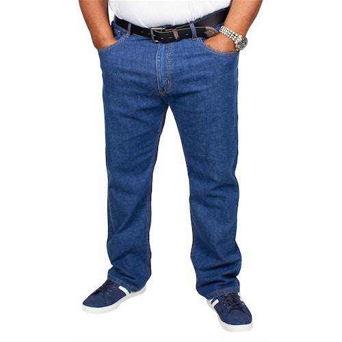 Bigdude Stretch Jeans Mid Wash Tall Fit