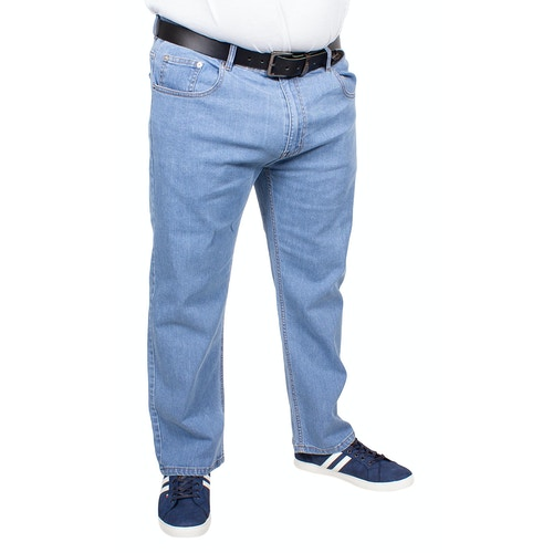 Bigdude Stretch Jeans Light Wash