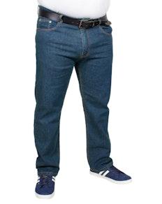 Bigdude Stretch Jeans Blau