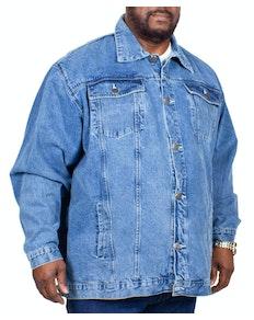 KAM Western Denim Jacket Stonewash