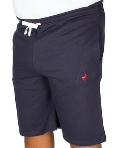 Bigdude Signature Jogging Shorts Marineblau