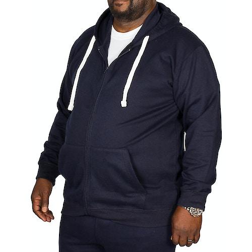 Bigdude Essentials Hoody Navy Tall