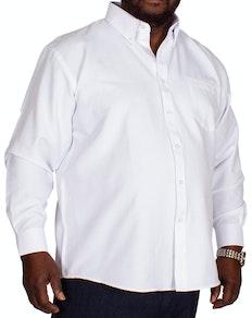 KAM Oxford Hemd Weiß