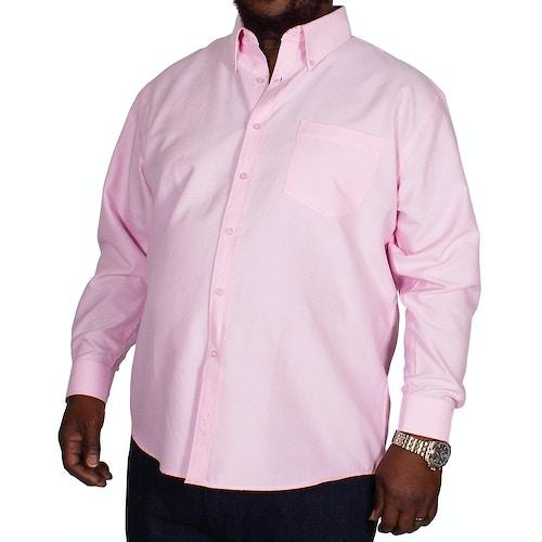 KAM Long Sleeve Oxford Shirt Pink