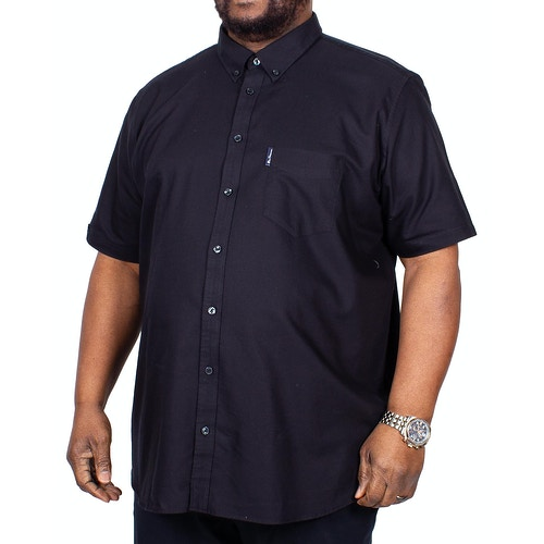 Ben Sherman Signature Oxford Short Sleeve Shirt Black