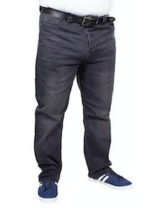 KAM Rafael Stretch Jeans Charcoal