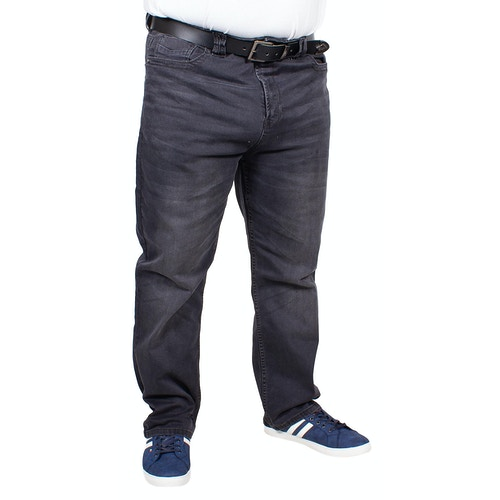 KAM Stretch Jeans Rafael Anthrazit