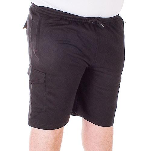 Espionage Jersey Cargo Shorts Black