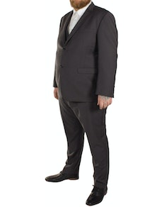 Skopes Madrid Superfine Twill 3 Piece Suit- Charcoal