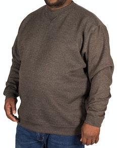 D555 Klassisches Sweatshirt Grau