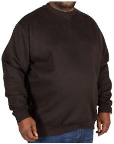 D555 Klassisches Sweatshirt Schwarz
